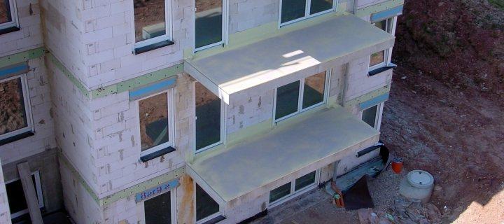 Meyer Bauabdichtung Balkon Abdichtung Wohnhaus Büchenbronn I Loggia